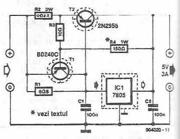 7805-high-current-power-supply