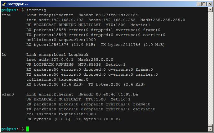 rtl8188_wireless_adaptor_ifconfig_komut_ciktis