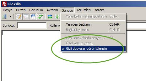 filezilla_gizli_dosyalari_goster