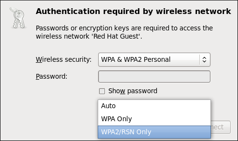 Authenticating to a wireless access point